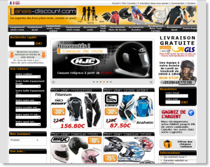 cr er un site internet de vente d 39 accessoires de motos scooter quad. Black Bedroom Furniture Sets. Home Design Ideas