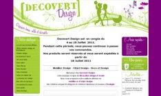Avis sur Shop Application du site decovertdesign.com