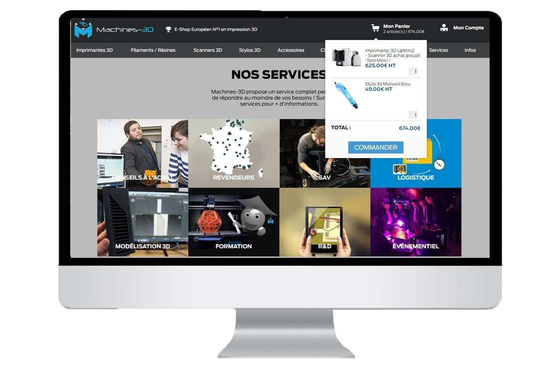 Créer un site e-commerce efficace : Mettre un accès rapide au panier