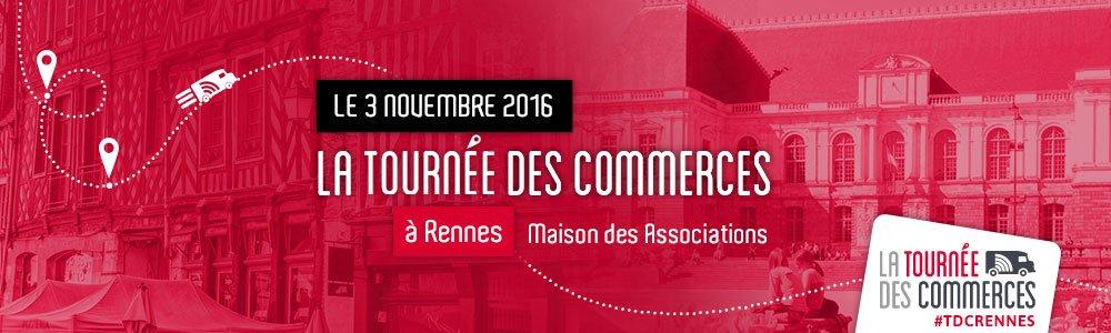 Retrouvez Shop Application avec la Tournée des Commerces à Rennes, le 3 Novembre à la Maison des Associations