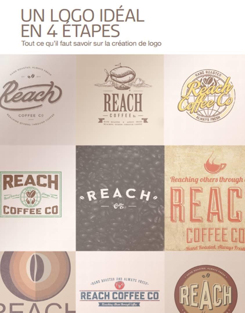 Téléchargez ce livre blanc pour créer votre logo idéal en 4 étapes