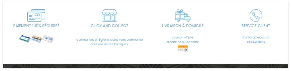 Click&Collect : Service de livraison pour créer un site ecommerce efficace
