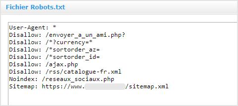 Referencement naturel et Indexation : Personnaliser le fichier robots.txt pour restreindre certaines pages web aux moteurs de recherche