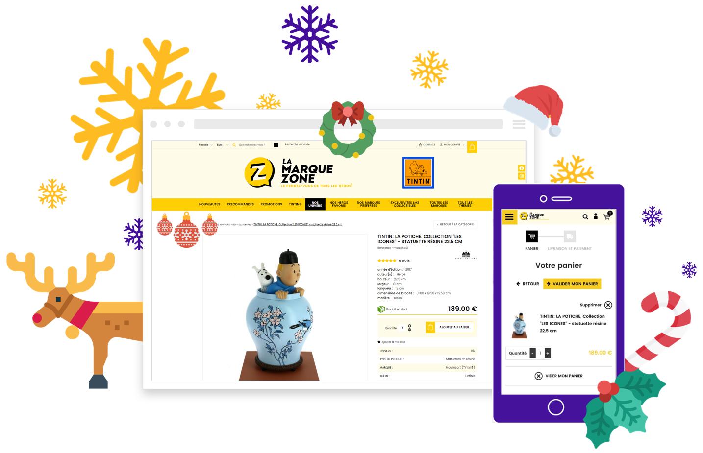 Conseils pour vendre en ligne avec son site e commerce durant les fetes de Noel