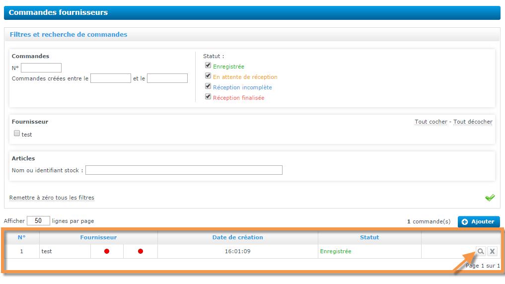 Envoyer automatiquement une commande à un de vos fournisseurs