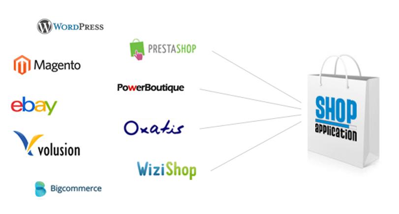 Migration, changement de prestataire ou CMS pour sa boutique en ligne : Wordpress, Prestashop, Oxatis, Wizishop, Magento, Woocommerce, Powerboutique...
