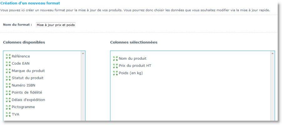 Mettez à jour rapidement et facilement vos fiches articles sur votre site e-commerce