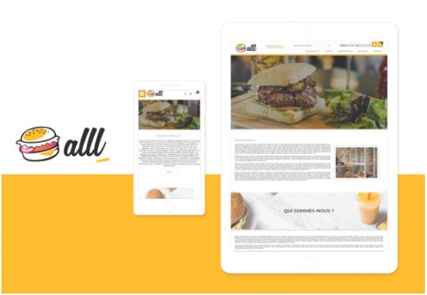 Theme Alll : Refonte ou Creation de boutique en ligne avec Shop Application