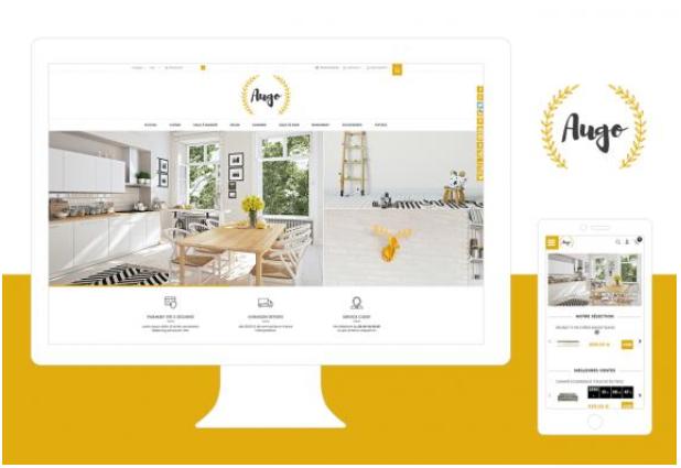 Theme Augo : Refonte ou Creation de boutique en ligne avec Shop Application