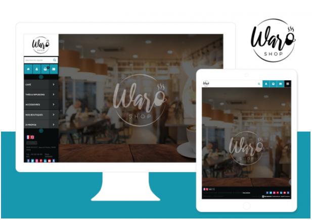 Theme Waro : Refonte ou Creation de boutique en ligne avec Shop Application