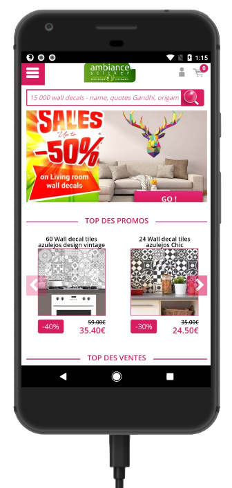 nouvelle version mobile design et compl u00e8te pour votre site web