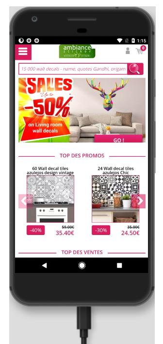 Version mobile pour booster ses ventes avec un site e-commerce