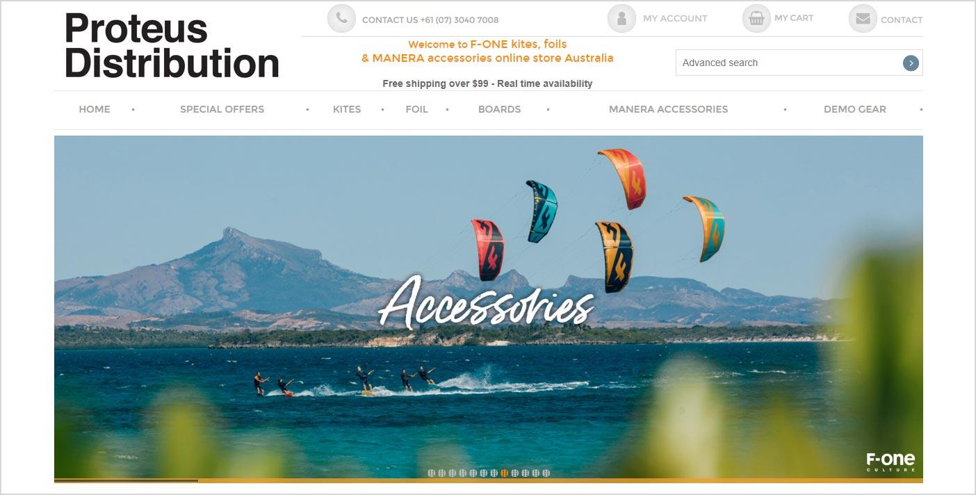 Belle image de diaporama pour la realisation de site vente en ligne www.f-one.com.au/