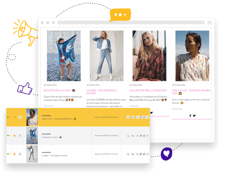 Creer un blog avec le module actualites de Shop Application pour communiquer efficacement sur son site internet