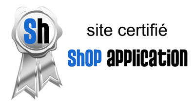 Site certifié Shop Application