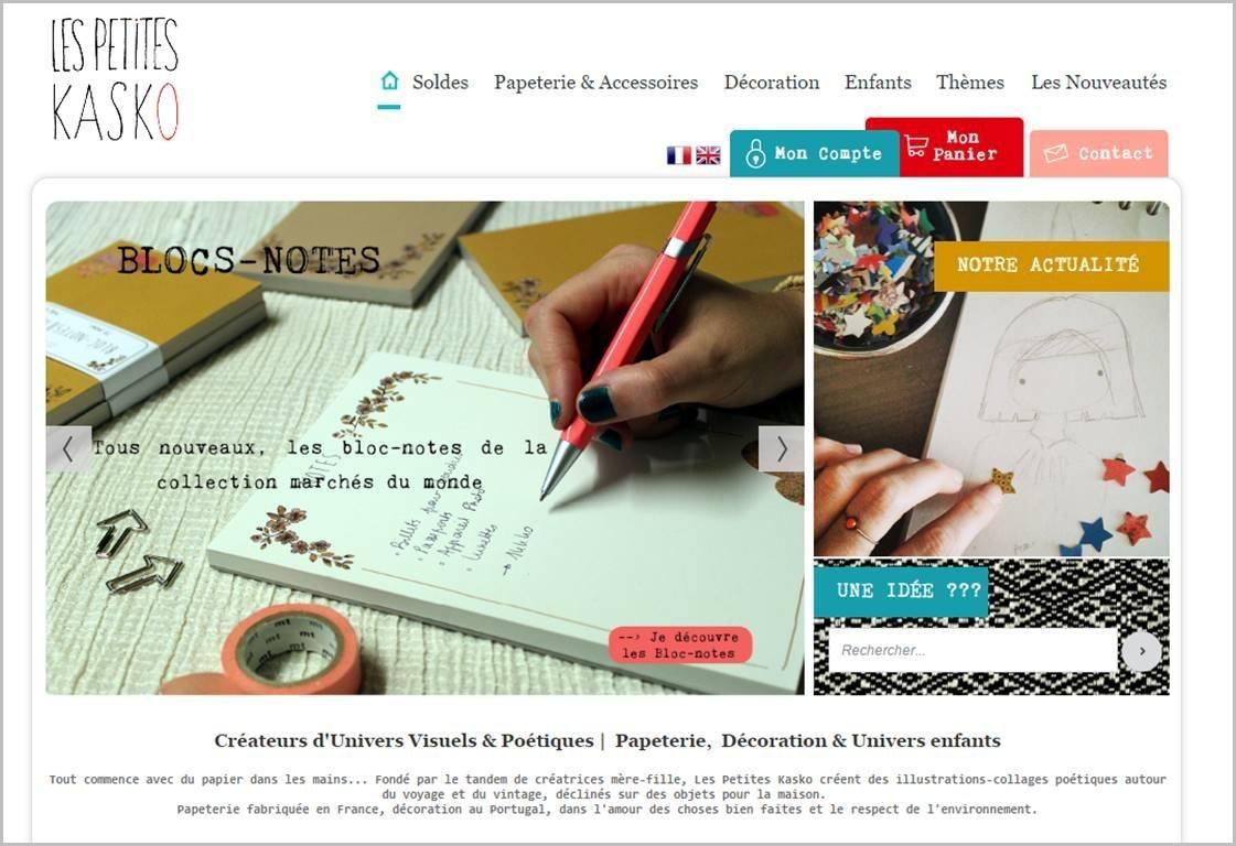 lespetiteskasko.com - module de diaporama personnalisée
