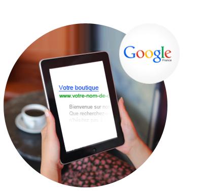 Bénéficiez de 75 € de crédit Google AdWords gratuits pour toute nouvelle campagne lancée, grâce à la solution E-commerce Shop Application