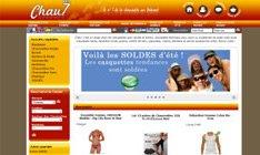 Avis sur Shop Application du site chau7.fr