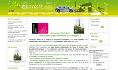Avis sur shop application du site Ecovisitparis.com