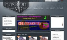 Avis Shop Application du site fashion-vip.ch